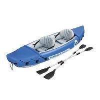 Sport D'eau - Glisse D'eau BESTWAY Kayak Gonflable Lite-Rapid 2 places + rames