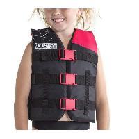 Sport D'eau - Glisse D'eau JOBE Gilet de flottaison nylon enfant - Rose intense