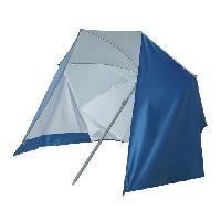 Sport D'eau - Glisse D'eau Parasol paravent plage polyester anti UV - 22/25 180cm - Bleu