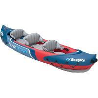 Sport D'eau - Glisse D'eau SEVYLOR Kayak Gonflable Tahiti Plus - 3 places - Rouge et Bleu