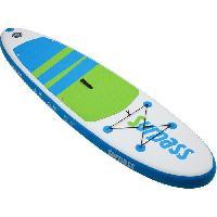 Sport D'eau - Glisse D'eau SURPASS - Kit Paddle gonflable - 275 x 76 x 15 cm