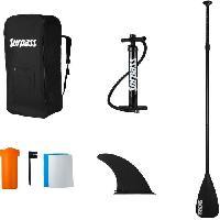 Sport D'eau - Glisse D'eau SURPASS - Kit Paddle gonflable Drakkar - 330x76x15cm - 115kg max