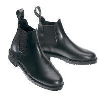 Sport Equestre Boots d'équitation First Cuir - Noir - 33 - Generique