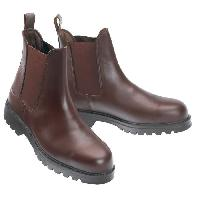 Sport Equestre Boots d'equitation Safety - Marron - 44 - Norton