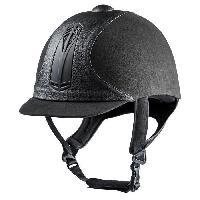 Sport Equestre CHOPLIN Casque équitaion premium - gris / noir - 60 cm