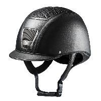 Sport Equestre C.S.O Casque d'équitation aix cristal - noir - 53 cm - Generique
