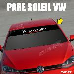 Sticker 893 pare-soleil pour VW COMPETITION Up Polo Golf Caddy Scirocco Beetle Run-R Stickers