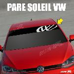 Sticker 895 pare-soleil LOGO VW FUN Up Polo Golf Caddy Scirocco Beetle