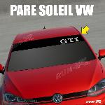Sticker 896 pare-soleil pour VW GTI Up Polo Golf Caddy Scirocco Beetle - Run-R Stickers