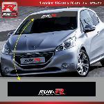 Sticker pare-soleil Run-R 009PN Racing 125x20cm Run-R Stickers