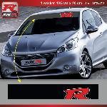 Sticker pare-soleil Run-R 00BP Red Racing 125x20cm Run-R Stickers