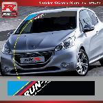 Sticker pare-soleil Run-R 00BQ PS Color 125x20cm pour Peugeot Run-R Stickers