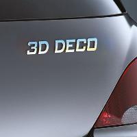Stickers 3D 3D deco lettre -D- - ADNAuto