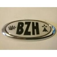 Stickers 3D Adhesif Sticker - Embleme BZH 3D - 3.7x6.2cm - Breizh