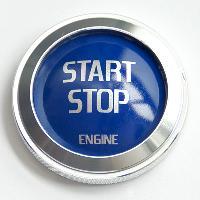 Stickers 3D Adhesif Sticker - Jump Start - Bleu - ADNAuto