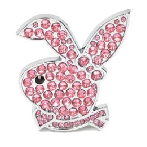 Stickers 3D Adhesif Sticker 3D - Evo Bunny diamant rose - BC Corona Generique