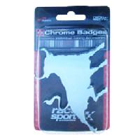 Stickers 3D Adhesif Sticker 3D - Taureau silver 80x60