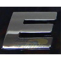 Stickers 3D Adhesif Sticker 3D Chrome - Lettre E - 23x27mm - ADNAuto