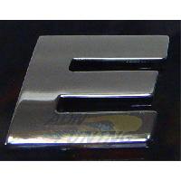 Stickers 3D Adhesif Sticker 3D Chrome - Lettre E - 23x27mm Generique