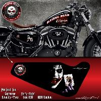 Stickers Harley Stickers Harley Davidson Sportster JOKER compatible avec Forty-eight Roadster Seventy-Two Iron 883 Superlow 1200 Custom - ADNAuto - Collection 2017