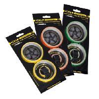 Stickers Jantes Kit adhesif pour Touge - jaune - Dotz