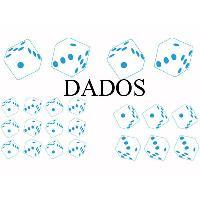 Stickers Monocouleurs Set Adhesifs -ELEMENT DADOS- Bleu - PROMO ADN - Car Deco
