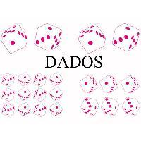 Stickers Monocouleurs Set Adhesifs -ELEMENT DADOS- Rose - PROMO ADN - Car Deco
