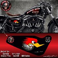 Stickers Motos Stickers Harley Davidson Sportster HORSEPOWER pour Forty-eight Seventy-Two Iron 883 Superlow 1200 Custom - Run-R Stickers