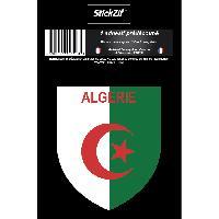 Stickers Multi-couleurs 1 Sticker Algerie 1 - ADNAuto