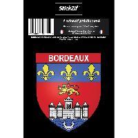 Stickers Multi-couleurs 1 Sticker Blason Bordeaux - ADNAuto