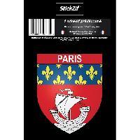 Stickers Multi-couleurs 1 Sticker Blason Paris Generique