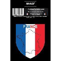 Stickers Multi-couleurs 1 Sticker France STP1B Generique