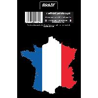 Stickers Multi-couleurs 1 Sticker France STP1C