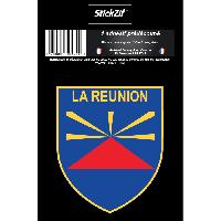 Stickers Multi-couleurs 1 Sticker La Reunion - STR974B