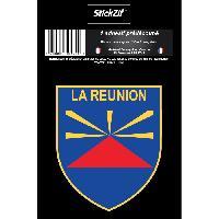 Stickers Multi-couleurs 1 Sticker La Reunion - STR974B - ADNAuto