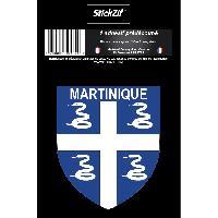 Stickers Multi-couleurs 1 Sticker Martinique - STR972B - ADNAuto
