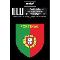 Stickers Multi-couleurs 1 Sticker Portugal - STP2B - ADNAuto