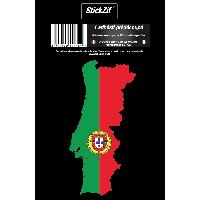 Stickers Multi-couleurs 1 Sticker Portugal - STP2C - ADNAuto