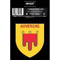 Stickers Multi-couleurs 1 Sticker Region Auvergne 1 - ADNAuto