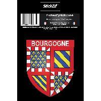 Stickers Multi-couleurs 1 Sticker Region Bourgogne 1 - ADNAuto