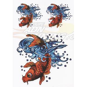 Stickers Multi-couleurs Adhesif -Koi-
