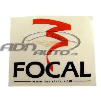 Stickers Multi-couleurs Adhesif 12x10cm Focal