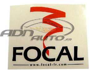 Stickers Multi-couleurs Adhesif 32x28cm Focal