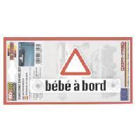 Stickers Multi-couleurs Autocollant Bebe a bord Generique