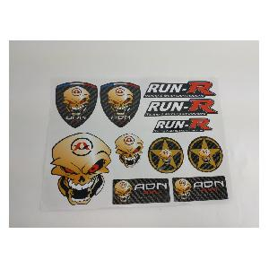 Stickers Multi-couleurs Planche stickers ADNAuto