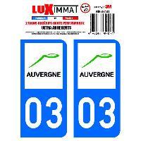 Stickers Run-R Stickers 2 Adhesifs Resine Premium Departement 03