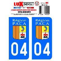 Stickers Run-R Stickers 2 Adhesifs Resine Premium Departement 04