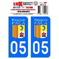 Stickers Run-R Stickers 2 Adhesifs Resine Premium Departement 05