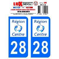 Stickers Run-R Stickers 2 Adhesifs Resine Premium Departement 28