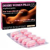 Stimulants pour femme Desire women pills - 10 gelules